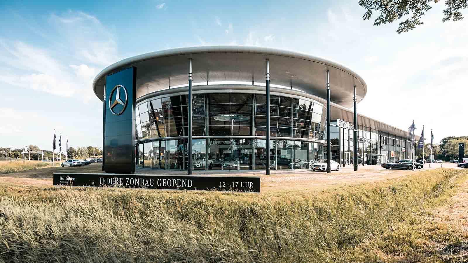 Louwman Mercedes-Benz Personenwagens Breda