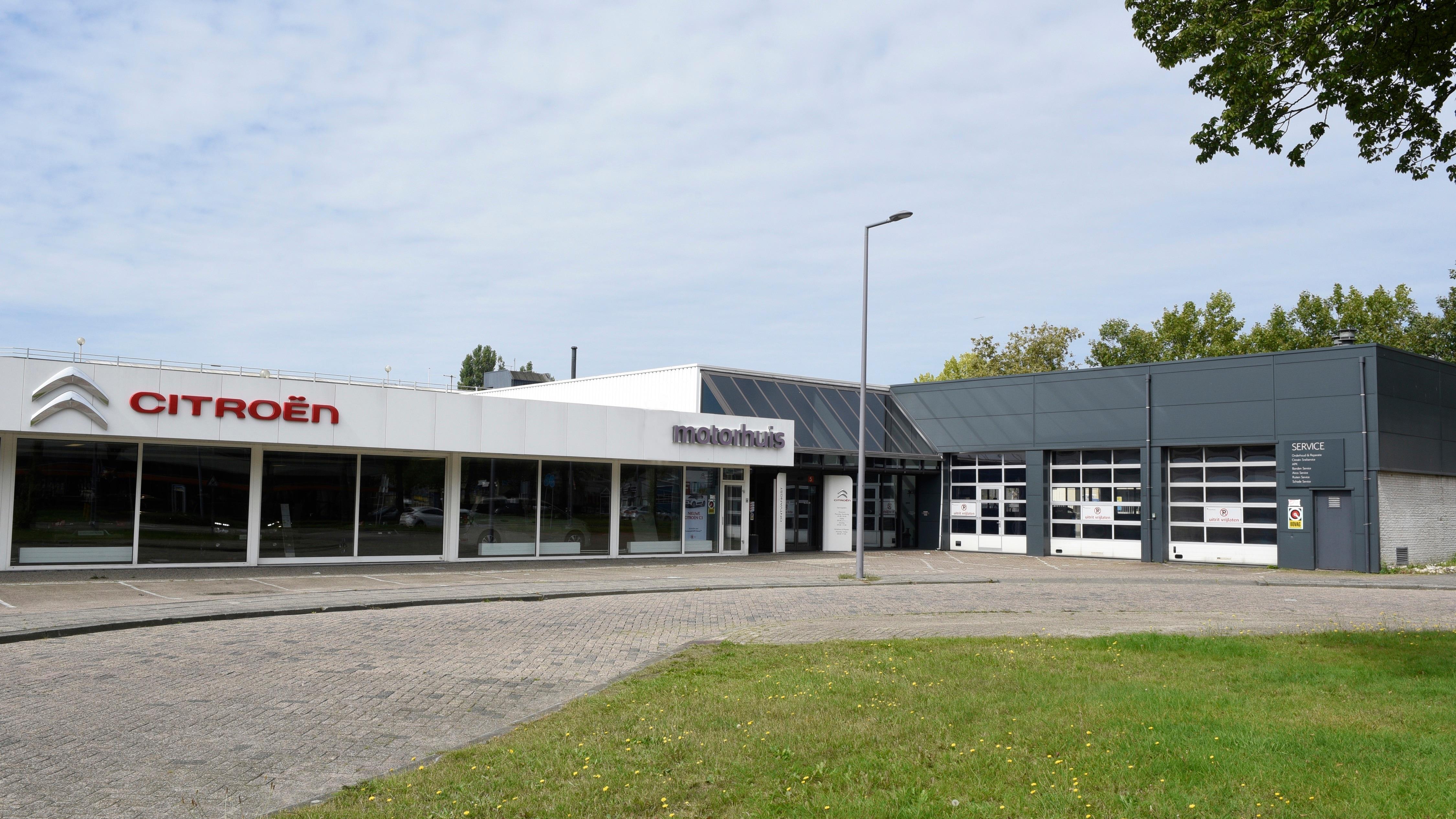 Motorhuis Rotterdam