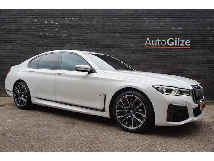 BMW 7-Serie 740i High Executive M-Sport. Carbon. Open Dak. Ambiance. Assistance. Parelmoer.