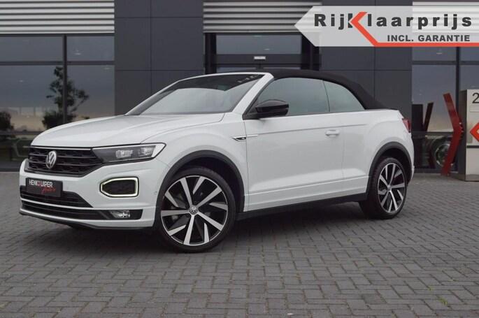 Volkswagen T-Roc Cabrio 1.5 TSI DSG R-LIne / Leer / 19'' LM / LED / Camera/Key-le